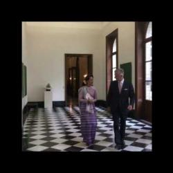 Aung San Suu Kyi - 02/05/2017 - Click to play this video in an overlay.