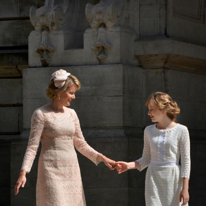 Reine & Princesse Elisabeth - Click to enlarge