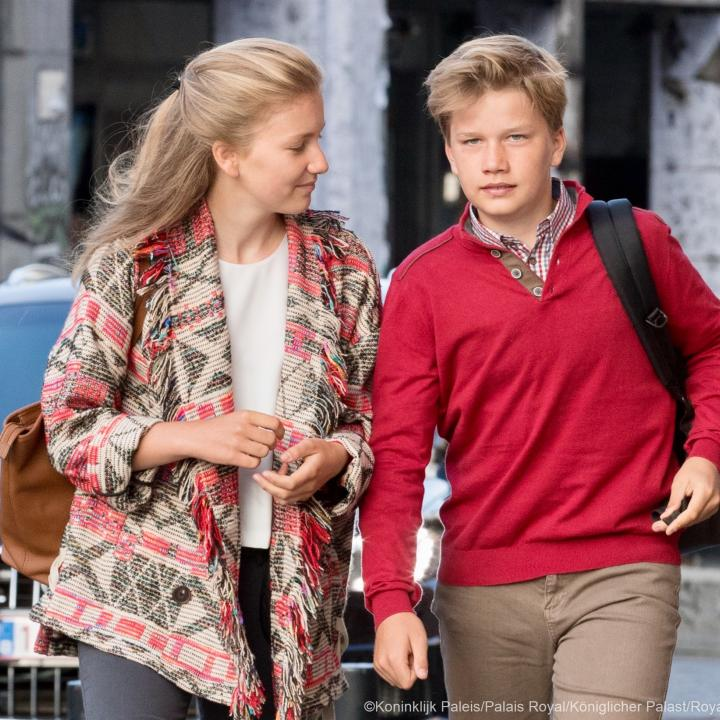 Princess Elisabeth and Prince Gabriel - Click to enlarge