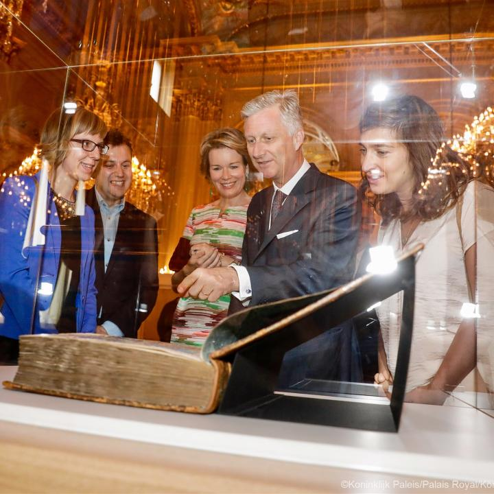 Summer exhibitions at the Royal Palace - Click to enlarge