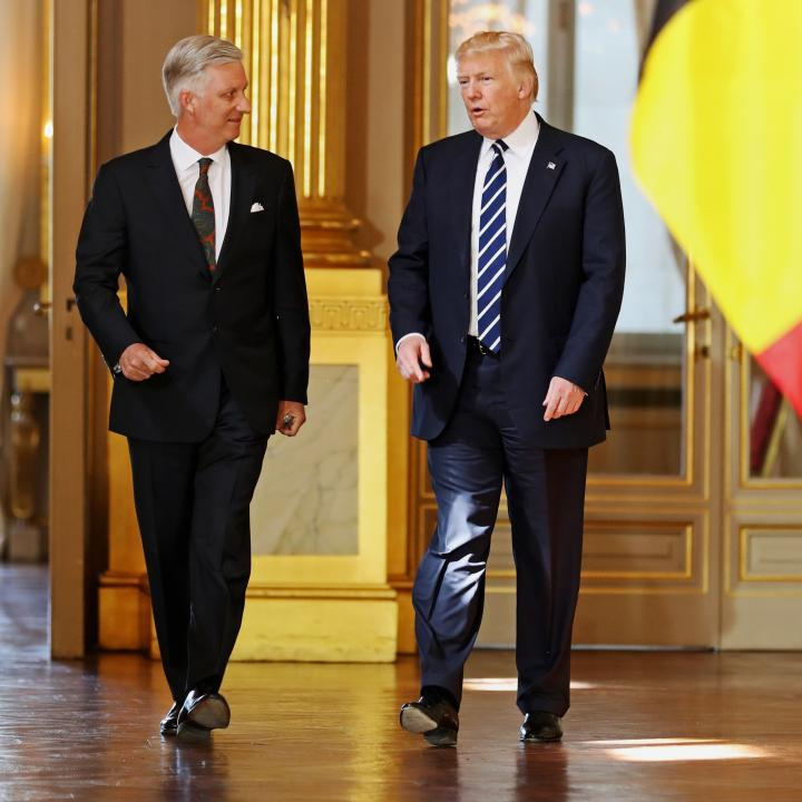 Besuch Präsident von die Vereinigte Staaten von Amerika - Click to enlarge