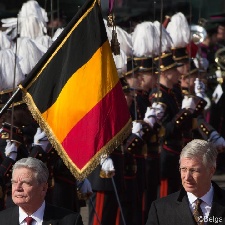 Sate visit of the President of the Federal Republic of Germany - Click to enlarge