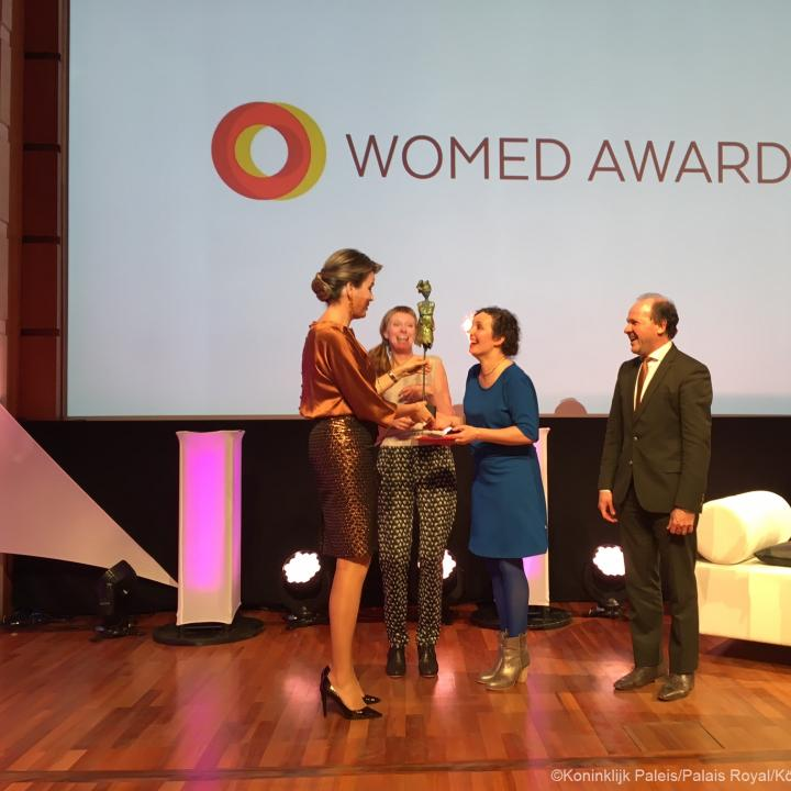 Womed Award - Click to enlarge