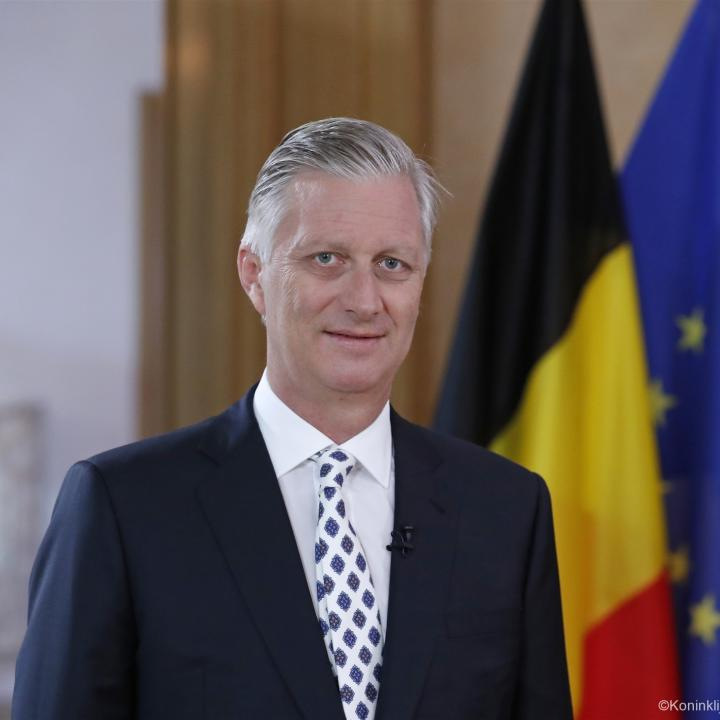 Speech of His Majesty the King of the Belgians on the National Day - Click to enlarge